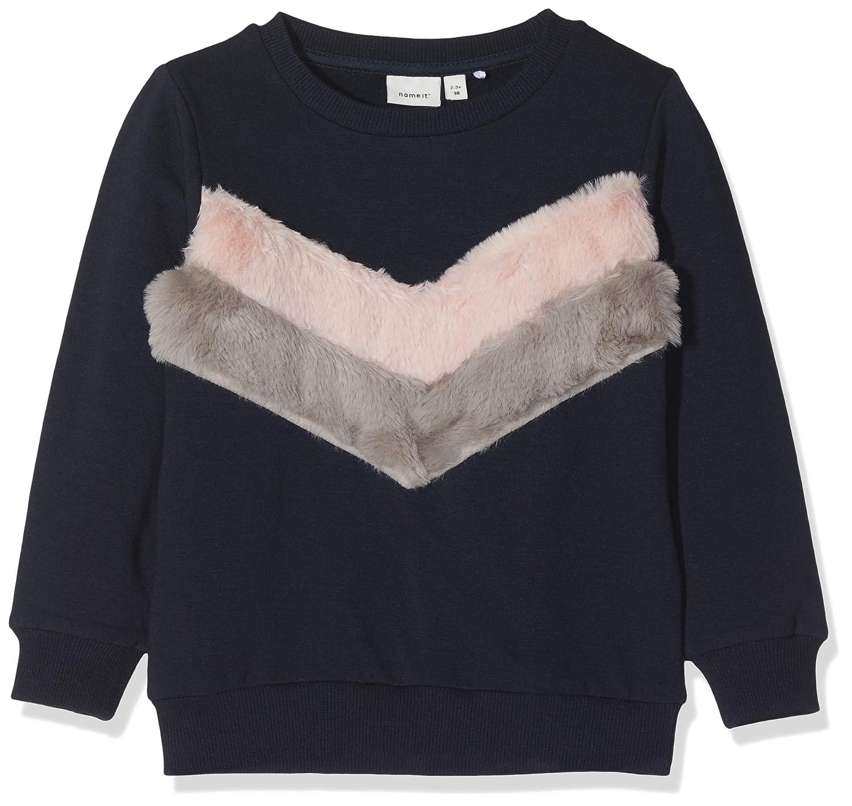 048ee5c5b9 Vêtements de sport Name It Nmfsanewfur LS SWE Bru Box Sweat-Shirt Bébé  Fille Sweat-Shirt ...
