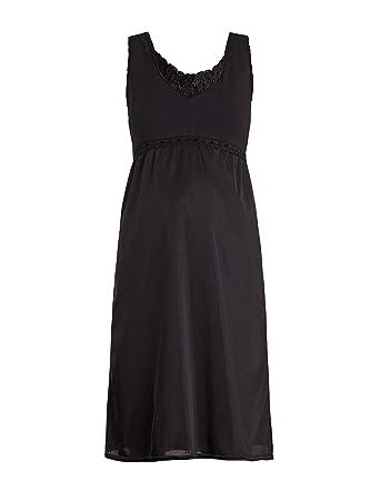 bdb06f7b59d52 Valair Maternity Full Slip for Pregnant Women - Cotton/Lycra Top, Nylon  Bottom (