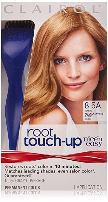 Amazon.com: Clairol Nice \'n Easy Root Touch-Up, 8.5A Medium ...
