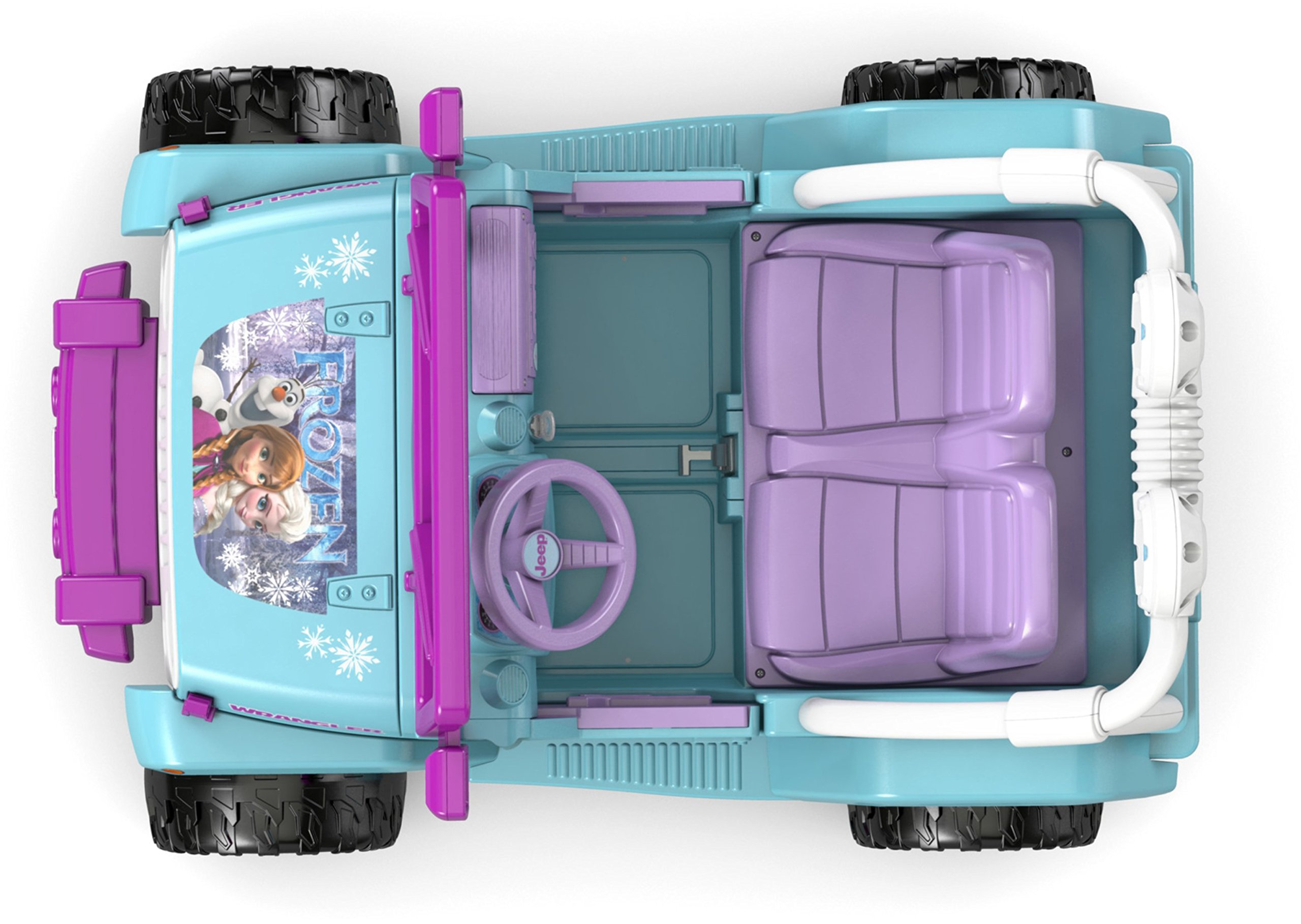 Power Wheels Disney Frozen Jeep Wrangler by Fisher-Price (Image #10)