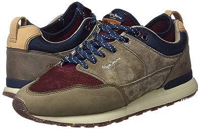 79332a925d3 Pepe Jeans Herren Btn Treck LTH Pack Sneaker  Amazon.de  Schuhe    Handtaschen