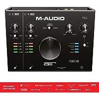 M-Audio AIR 192|8 - Interfaz de audio MIDI, USB y USB-C con 2 entradas, 4 salidas, software de estudio, ProTools|First, Ableton Live Lite, Eleven Lite y la colección de efectos de Avid y AIR MusicTech