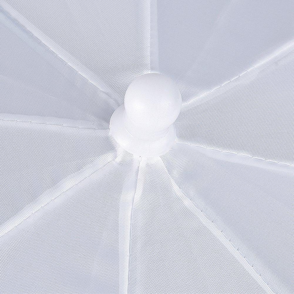 Neewer Nueva Fotograf/ía Profesional 3383cm iluminaci/ón del Estudio reflexivo de Flash Translucent White Umbrella Suave Cantidad: 3