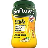 Softovac Bowel Regulator 250g - 100% Natural Actives: High Fiber Formula enriched with Sonamukhi, Harad, Mulethi, Saunf…