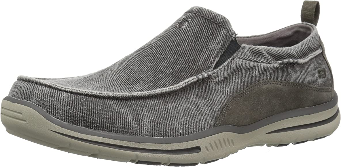 Skechers USA Men's Relaxed Fit-Elected