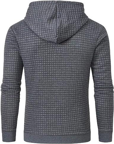 Maryia Mens Slim Fit Long Sleeve Lined Lightweight Zipper Closure Hoodies Fleece Casual Striped Drawstring Hooded