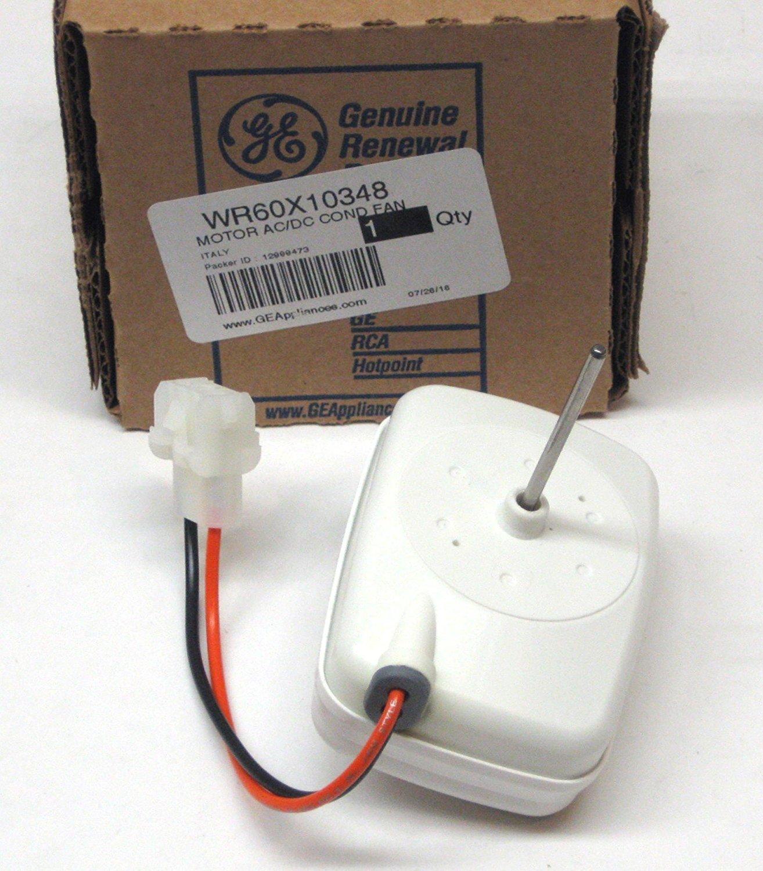 Ge WR60X10348 Refrigerator Condenser Fan Genuine Original Equipment Manufacturer (OEM) Part