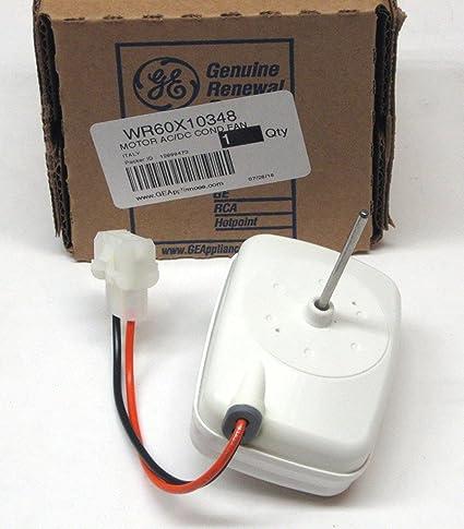 Ge WR60X10348 ventilador de condensador de refrigerador, pieza ...