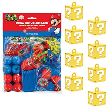Amazon.com: Kits de cumpleaños Express Super Mario Bros ...
