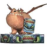 Posh Paws 12438 How to Train Your Dragon 3 Meatlug Soft Toy-32cm, Multi-Colour, 32 cm