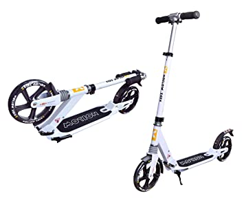 PATINETE URBANO DRAGSTER PARA ADULTOS 3-AMORT 200mm: Amazon ...