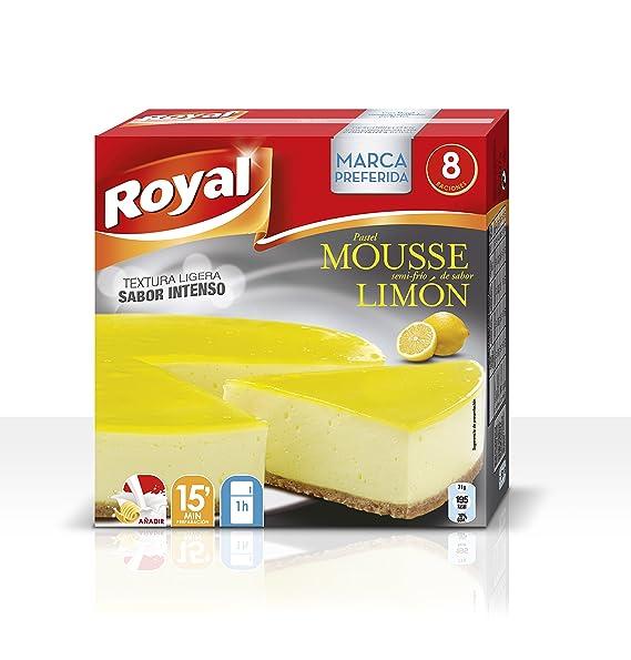 Royal Pastel Mousse de Limón - Paquete de 7 x 29.57 gr - Total: 207