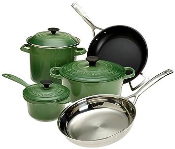 le creuset 8piece ultimate cookware set fennel