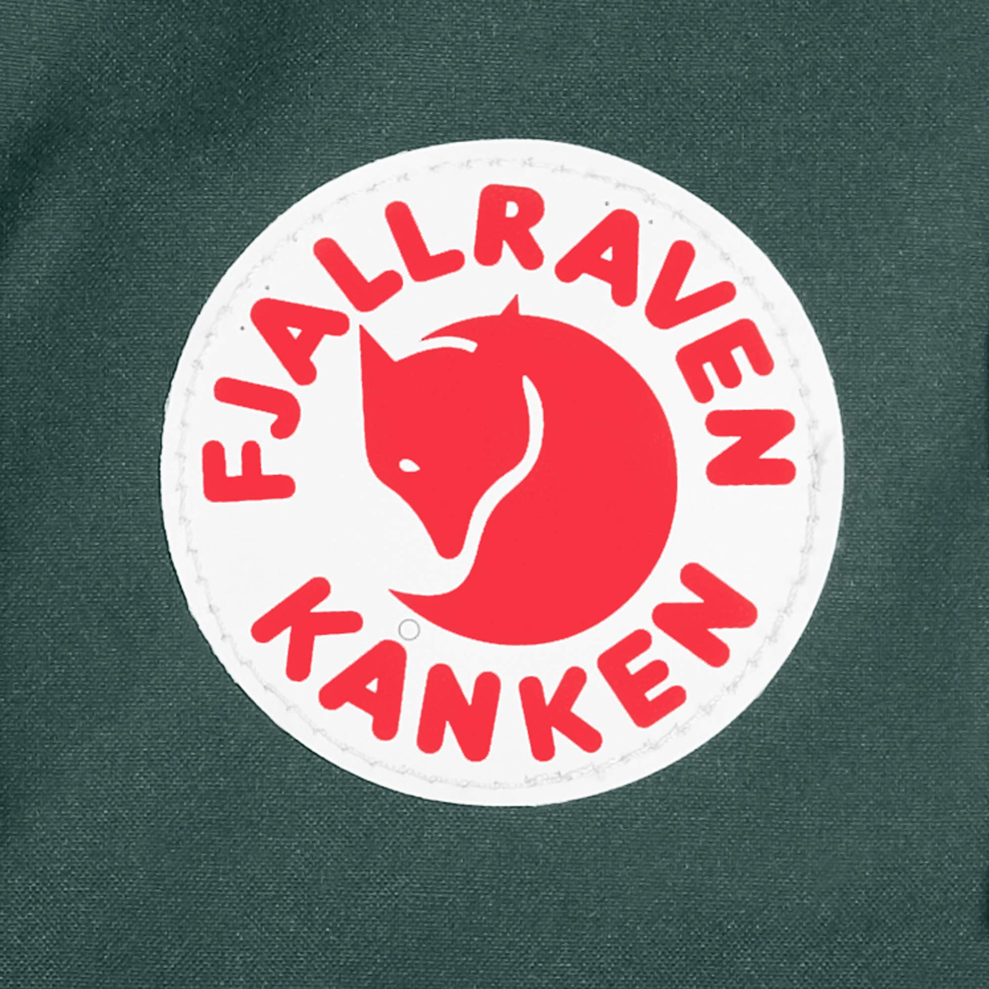 Fjallraven - Kanken Classic Backpack for Everyday, Forest Green/Ox Red by Fjallraven (Image #8)