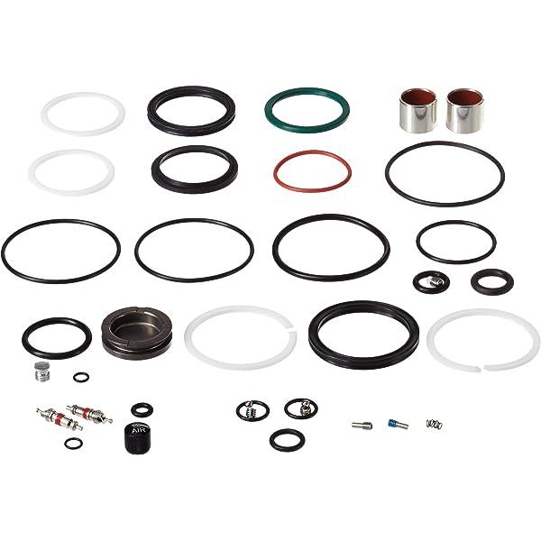Rockshox Unisexs Monarch RT3 Replacement Service Kit-Silver