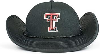 56917bb46 Cowbucker Official NCAA Mesh Wide Brim Cowboy Bucker Hat