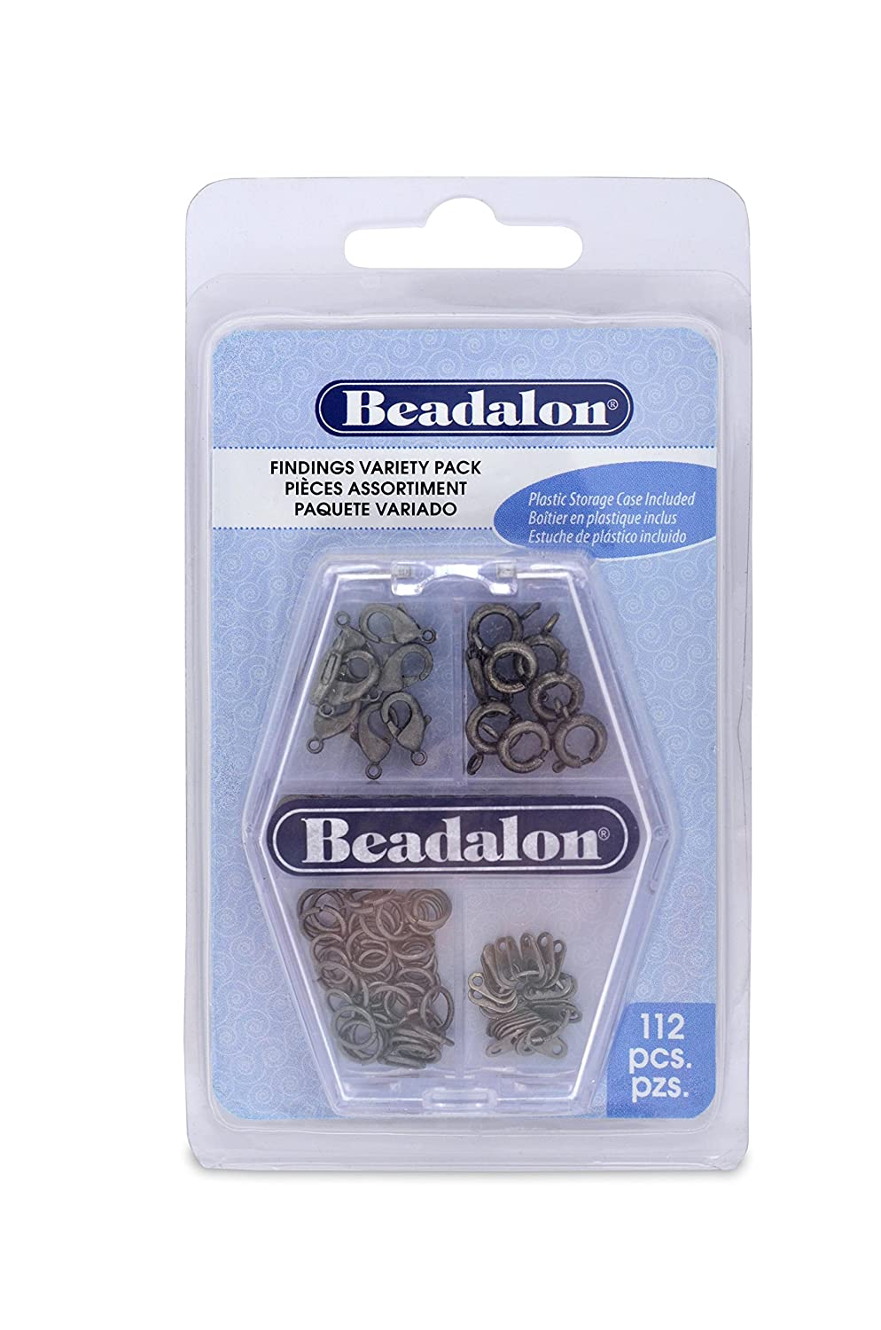 Amazon.com: Beadalon (1-Pack) Findings Variety Pack 73 Jump ...