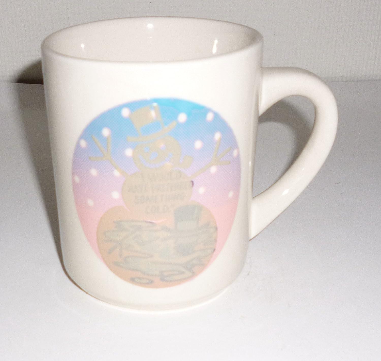 Denny\'s Restaurant Snowman Winter Coffee Mug: Amazon.co.uk: Kitchen ...