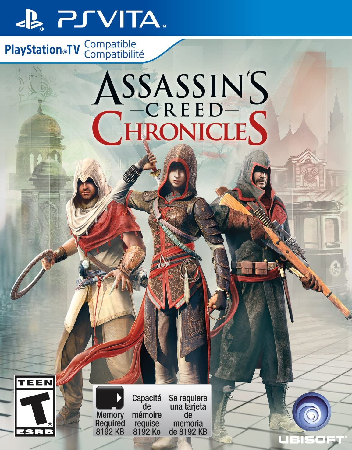 Amazon.com: ASSASSINS CREED CHRONICLES TRILOGY - PS4 ...