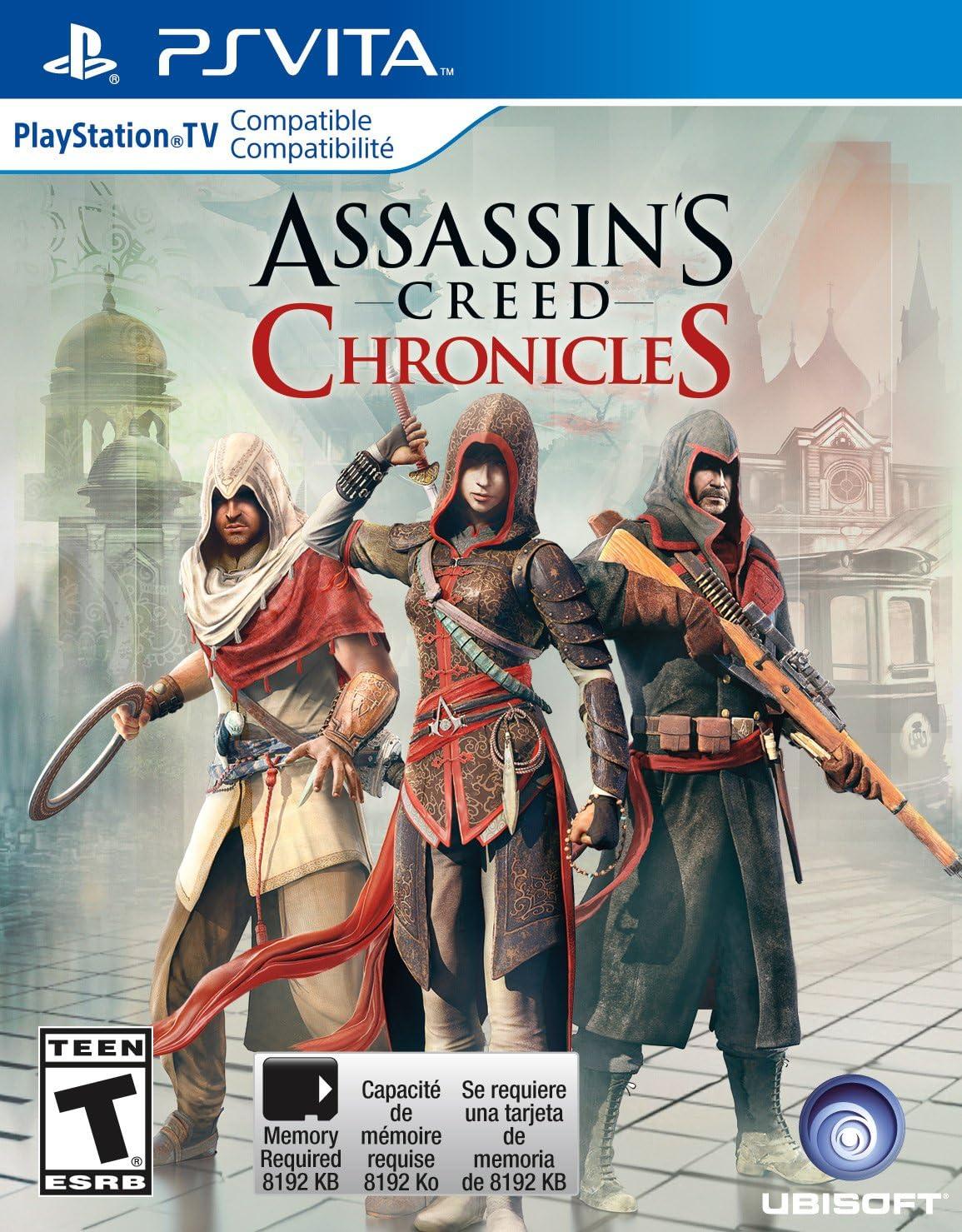 Amazon.com: Assassins Creed Chronicles Trilogy - PS Vita ...