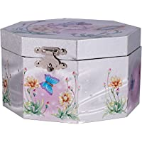 Childrens Musical Jewellery Box Ballerina Butterfly Fairy