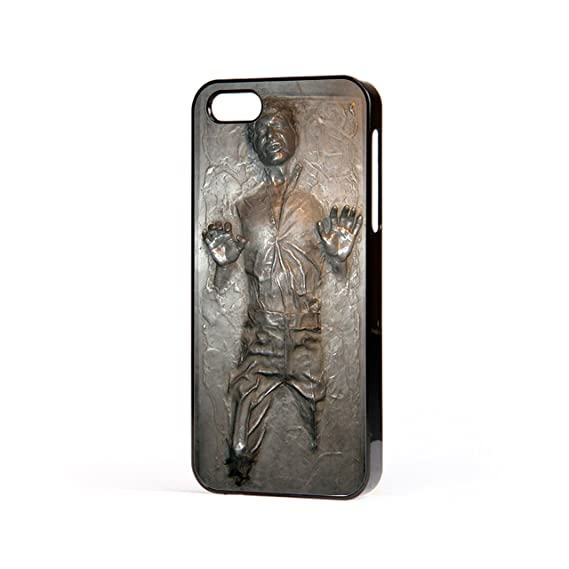 huge sale 04579 4bbf0 Star Wars Han Solo carbonite Iphone 5/5s black iphone case Free Next Day  Delivery