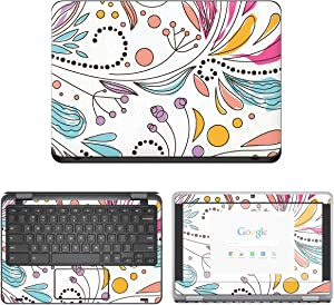 Decalrus - Protective Decal Skin Sticker for Dell ChromeBook 11 3180 (11.6