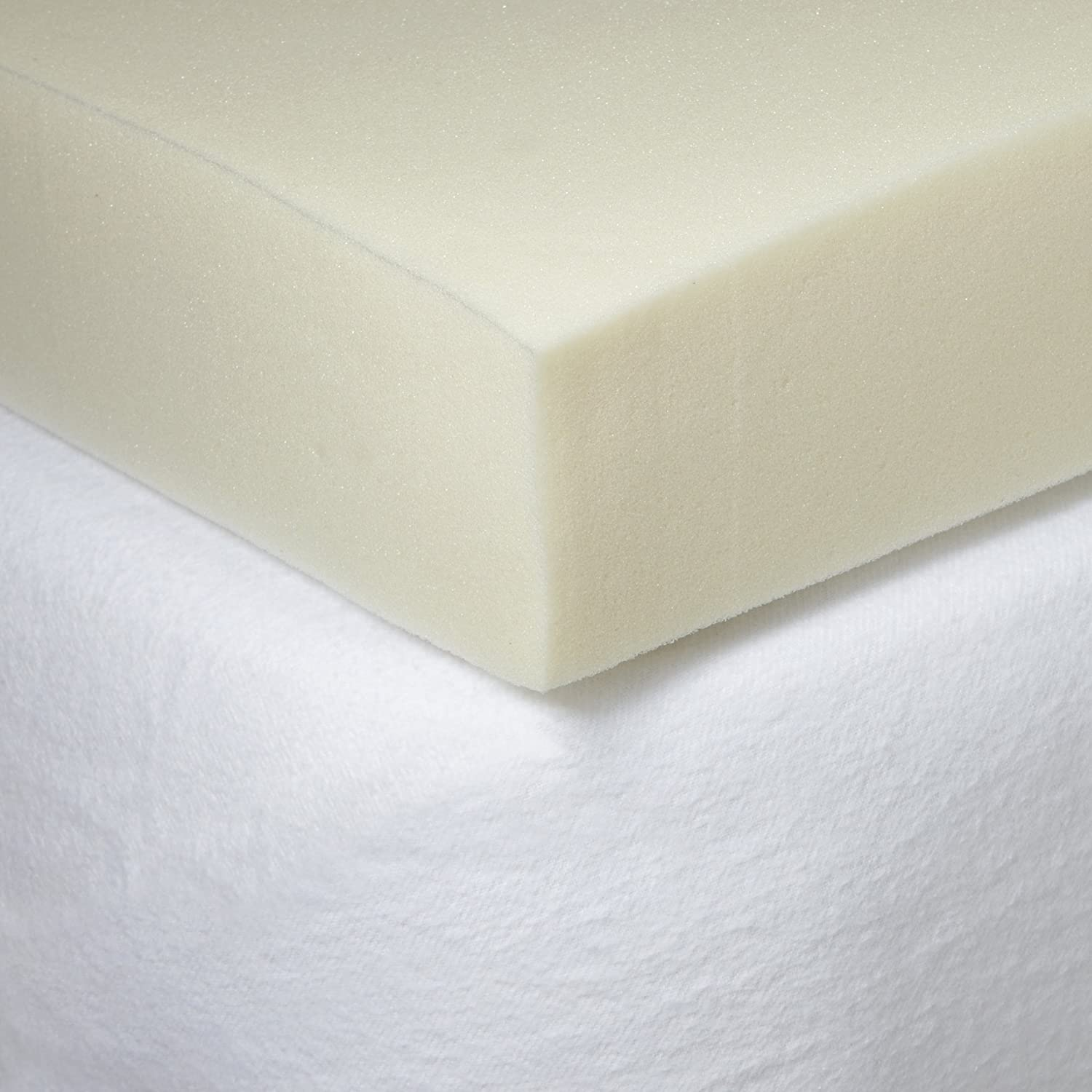 Amazon.com: Iso-Cool Memory Foam Mattress Topper with Outlast Cover, King:  Home & Kitchen