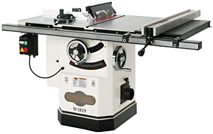 Shop fox w1819 3 hp 10 inch table saw with riving knife power shop fox w1819 3 hp 10 inch table saw with riving knife greentooth Images