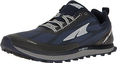 Zapatillas de correr para hombre, de la marca Altra, color negro/amarillo, número 40, color Azul, talla 43: Amazon.es: Zapatos y complementos
