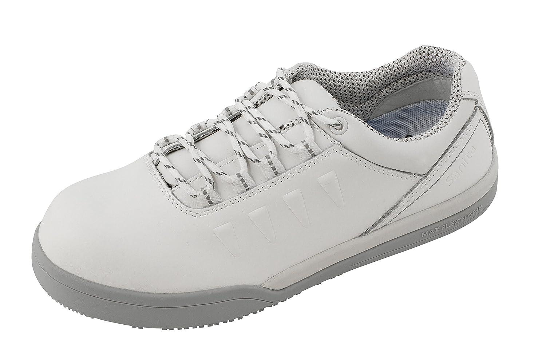 Sanita Unisex Erwachsene San Chef Lace Shoe s2 Sicherheitsschuhe weiss (weiss)
