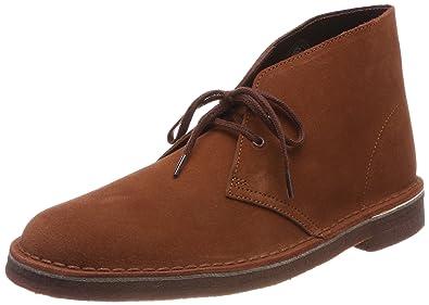 CLARKS Originals Mens Desert Mahogany Suede Boots 41 EU 63504c647
