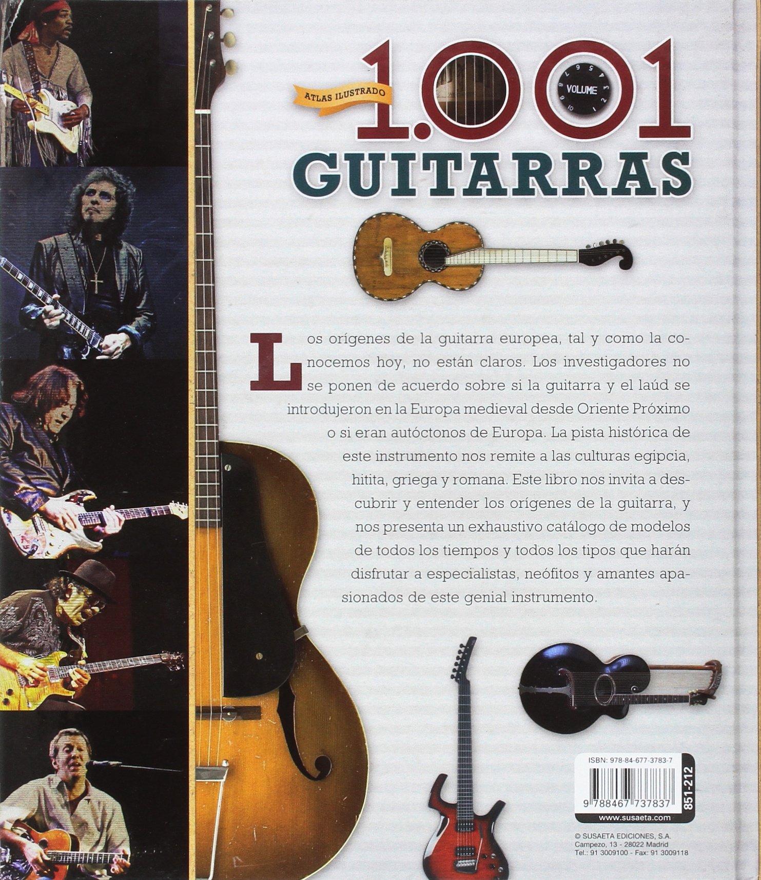 1.001 guitarras (Atlas Ilustrado): Amazon.es: Trujillo, Eduardo: Libros