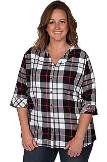 UG Apparel NCAA Womens Plaid Tunic