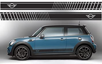 Mini Cooper S Side Stripe Decals Graphics Stickers Countryman