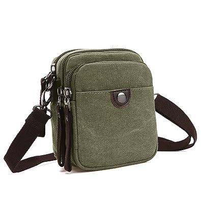 Amazon.com: Hombre pequeño teléfono celular cartera bolsa ...