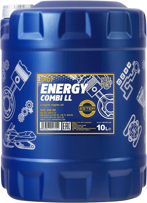 MANNOL Energy Combi LL 5W de 30API SN/CF motorenöl, 10L