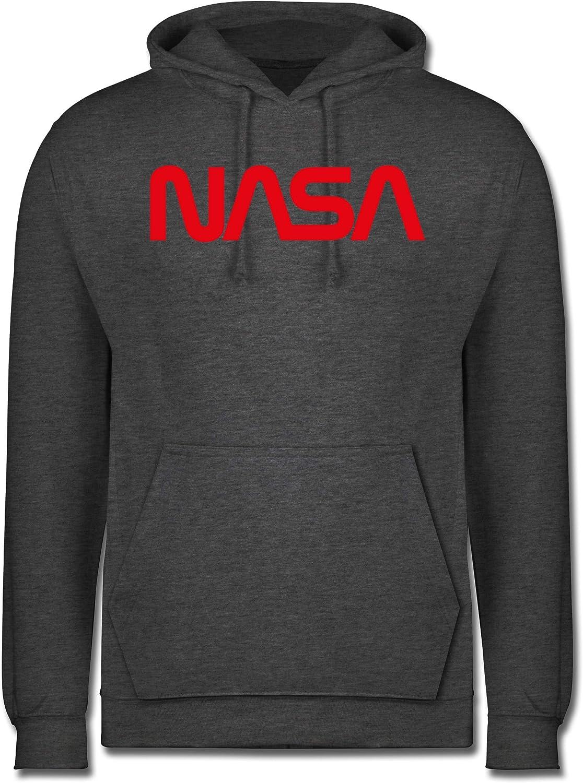 NASA Worm Motiv Shirtracer Nerds /& Geeks Herren Hoodie und Kapuzenpullover f/ür M/änner