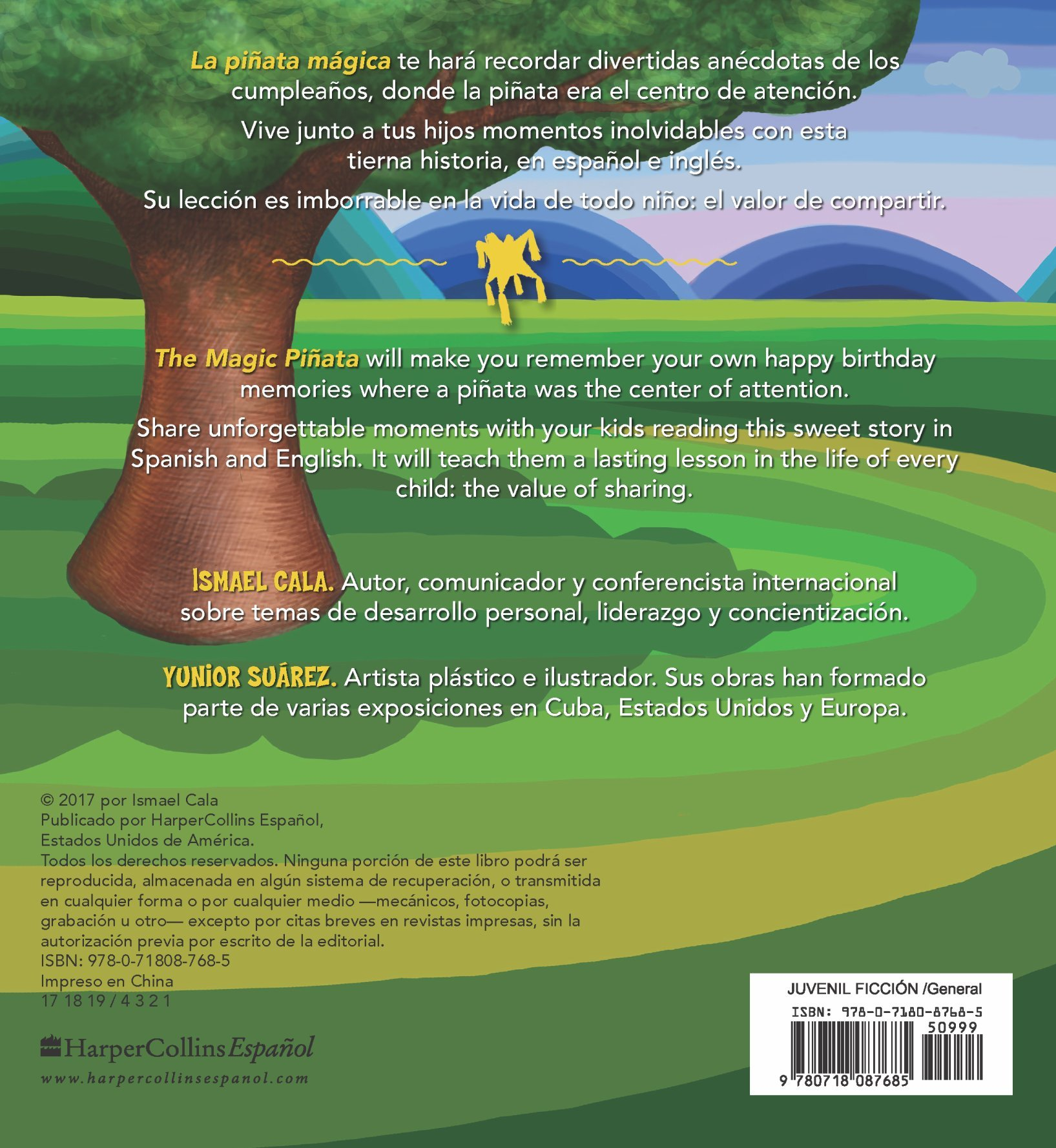 La piñata mágica - Bilingüe (Spanish Edition): Ismael Cala: 9780718087685: Amazon.com: Books