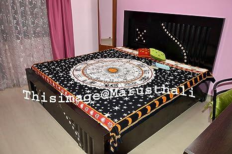 Camere Da Letto Stile Hippy : Mandala copriletto matrimoniale indiano psichedelico boemia picnic