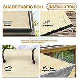 TANG Sunshades Depot 8'x50' Shade Cloth 180 GSM