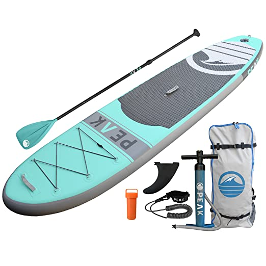 PEAK Inflatable Stand Up Paddle Boards Complete iSUP Package