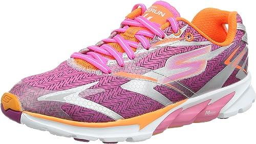 Skechers Go Run 4 - Zapatillas de Running de sintético Mujer ...