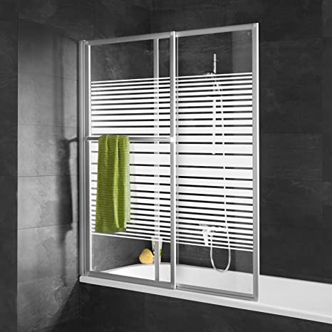 Schulte mampara de baño extensible 70 – 118 x 140 cm, mampara de ...