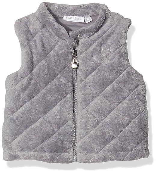 7902eecc58503 Noukies Z6601 - Combinaison - Uni - Mixte bébé - Gris - FR  1 mois (Taille  fabricant  1 mois)  Amazon.fr  Vêtements et accessoires