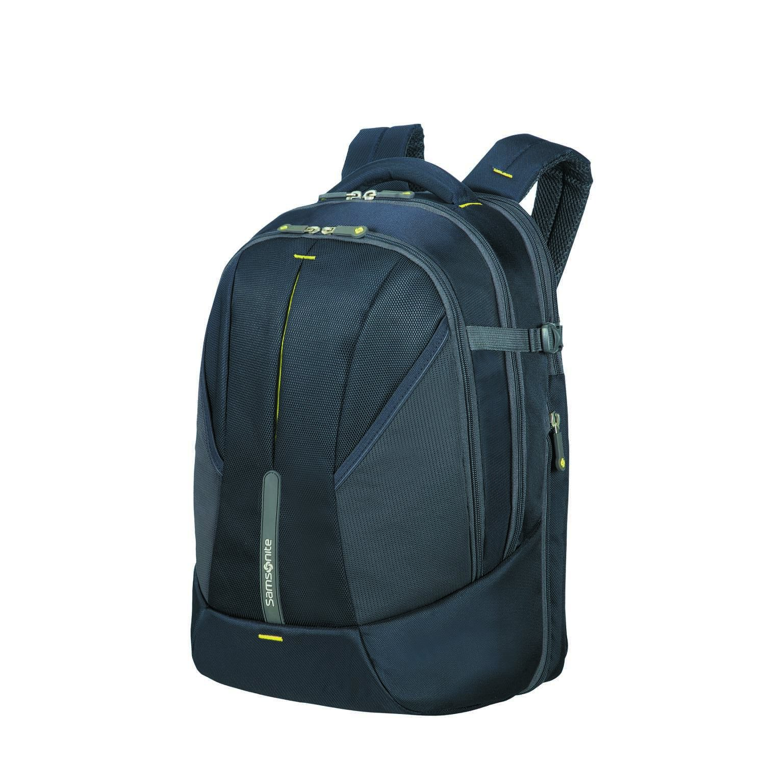 SAMSONITE 4mation - Laptop Backpack Mochila Tipo Casual, 46 cm, 34 Liters, Azul (Midnight Blue/Yellow): Amazon.es: Equipaje