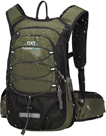 459a3439292 Mubasel Gear Insulated Hydration Backpack Pack with 2L BPA Free Bladder -  Keeps Liquid Cool up