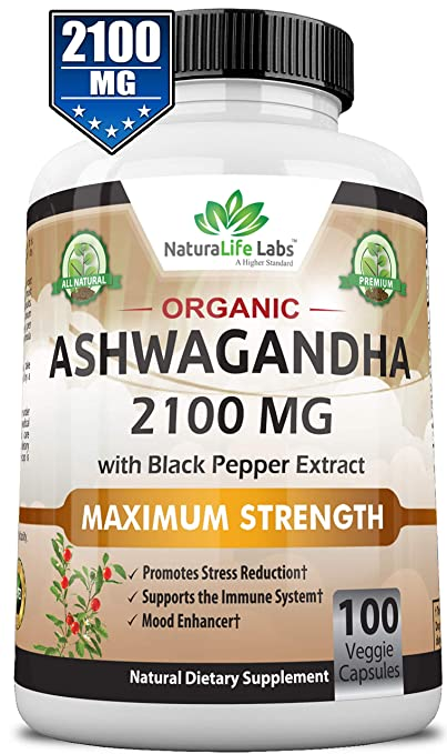 Ashwagandha herbal supplement
