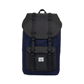 Herschel LITTLE AMERICA 25L BACKPACK (PEACOAT/BLACK CROSSHATCH): Amazon.es: Deportes y aire libre