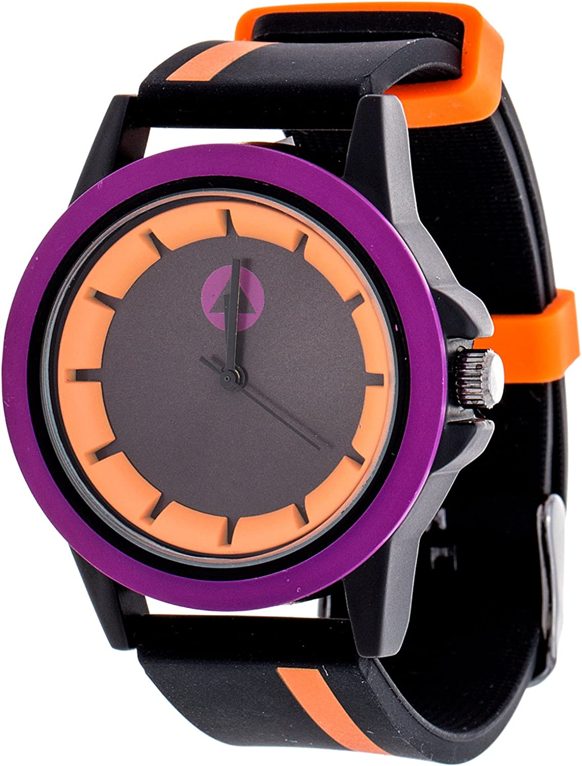 Airwalk Chinese-Automatic Watch with Silicone Strap, Black Model AWW-5099-OR